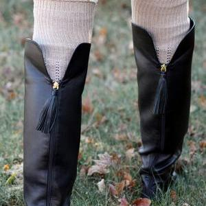 SALE Legwarmers - 100% Cotton, Knee..