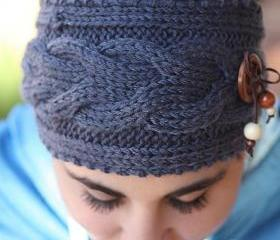 Knitted Headband - C..