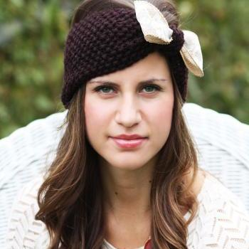 Headband - Large Bow, Burlap,Tan, Straw, Lace Bow , Knitted , Knit ,infinity, Button, Wide Headband, Turban, Christmas Gift